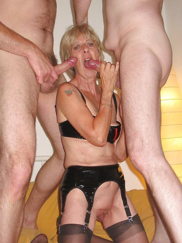 Horny Granny Porn