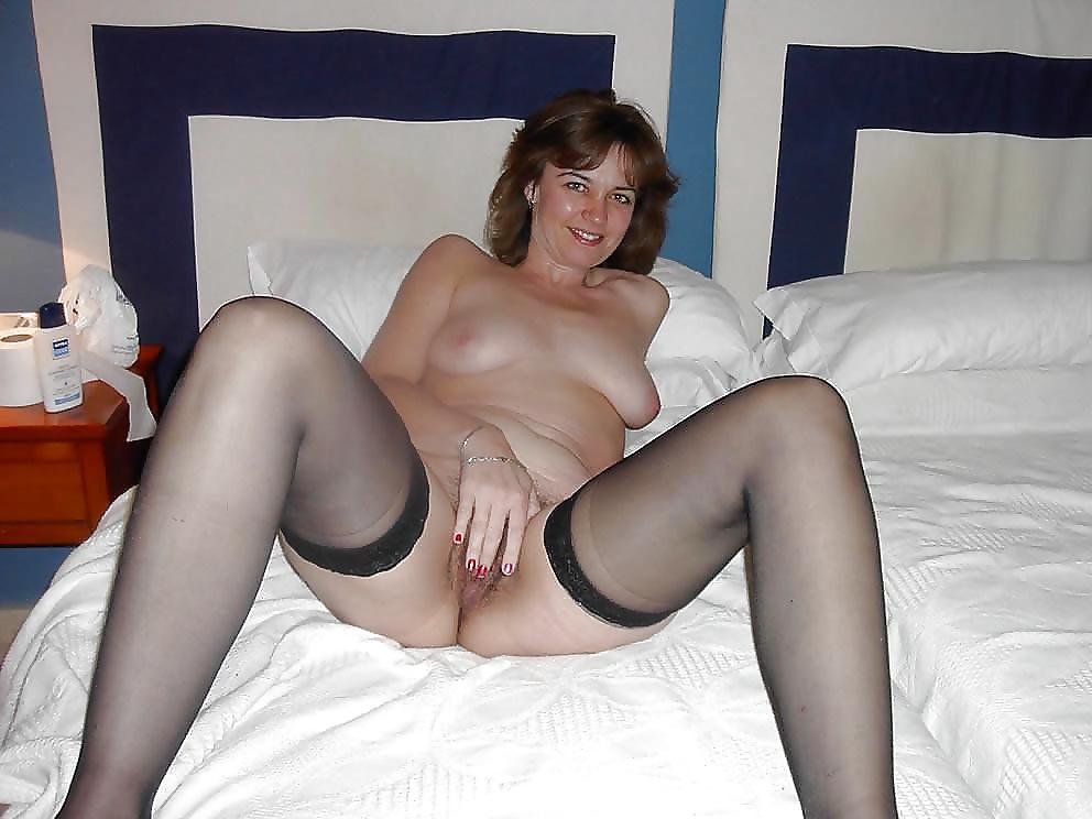 Big tits black lingerie