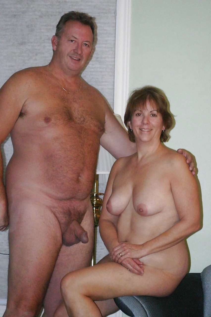Fat mature couples naked with you