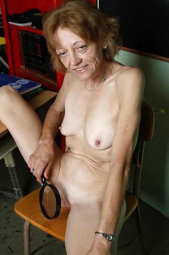 Skinny granny porn