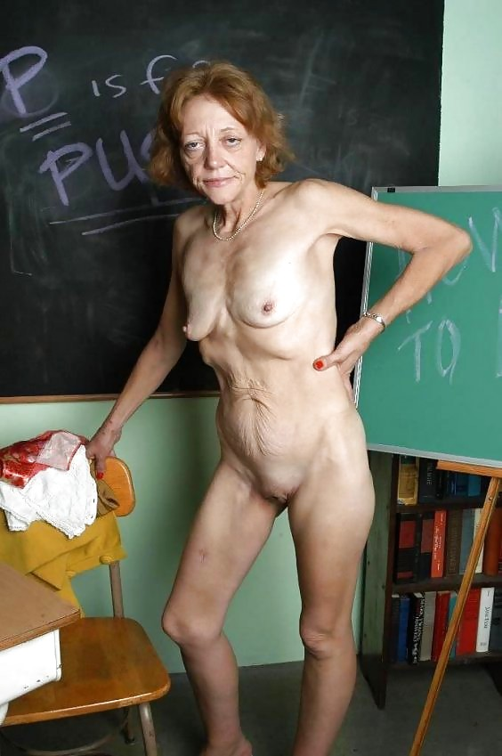 Confirm. happens. Ugly skinny old granny nude