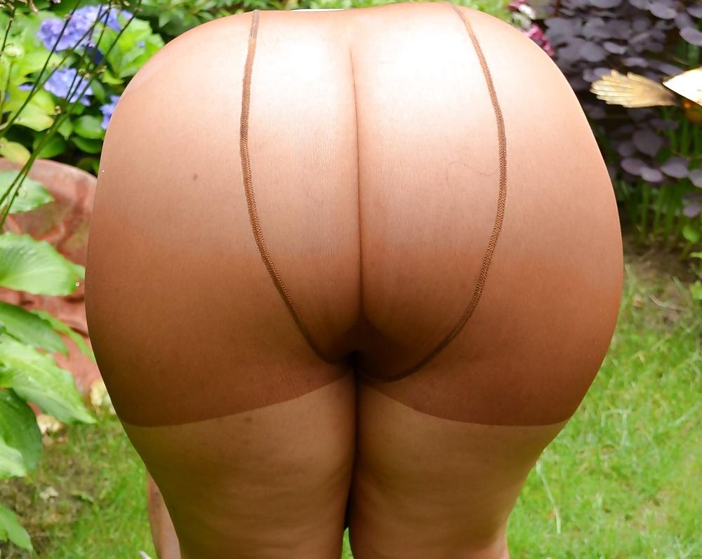 Womens panties in pantyhose material